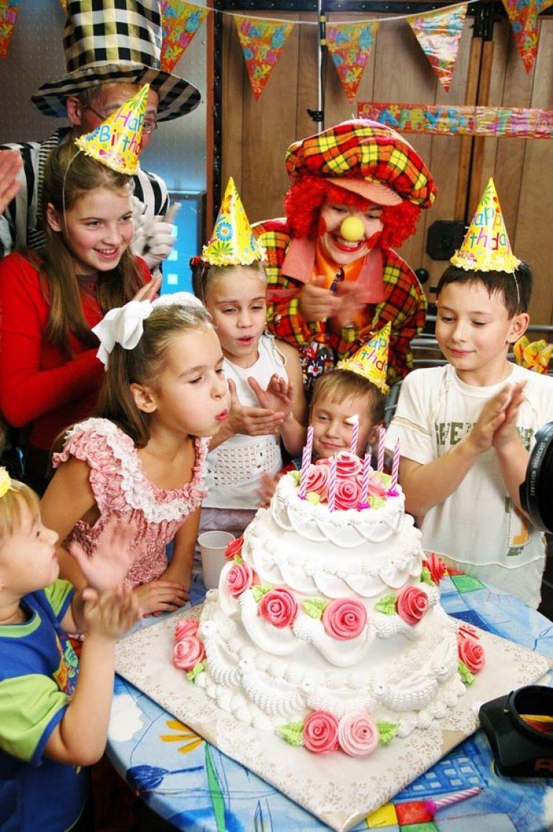 как развеселить детей на дне рождения