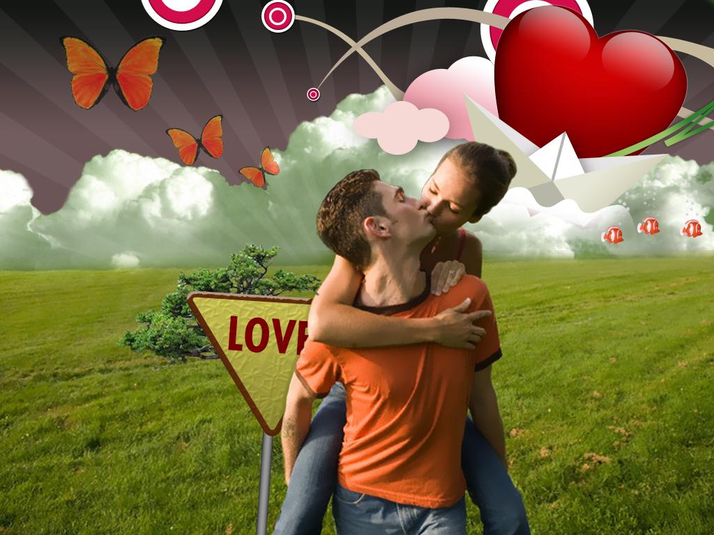 Дню, надписи о любви картинки романтика в фотошопе