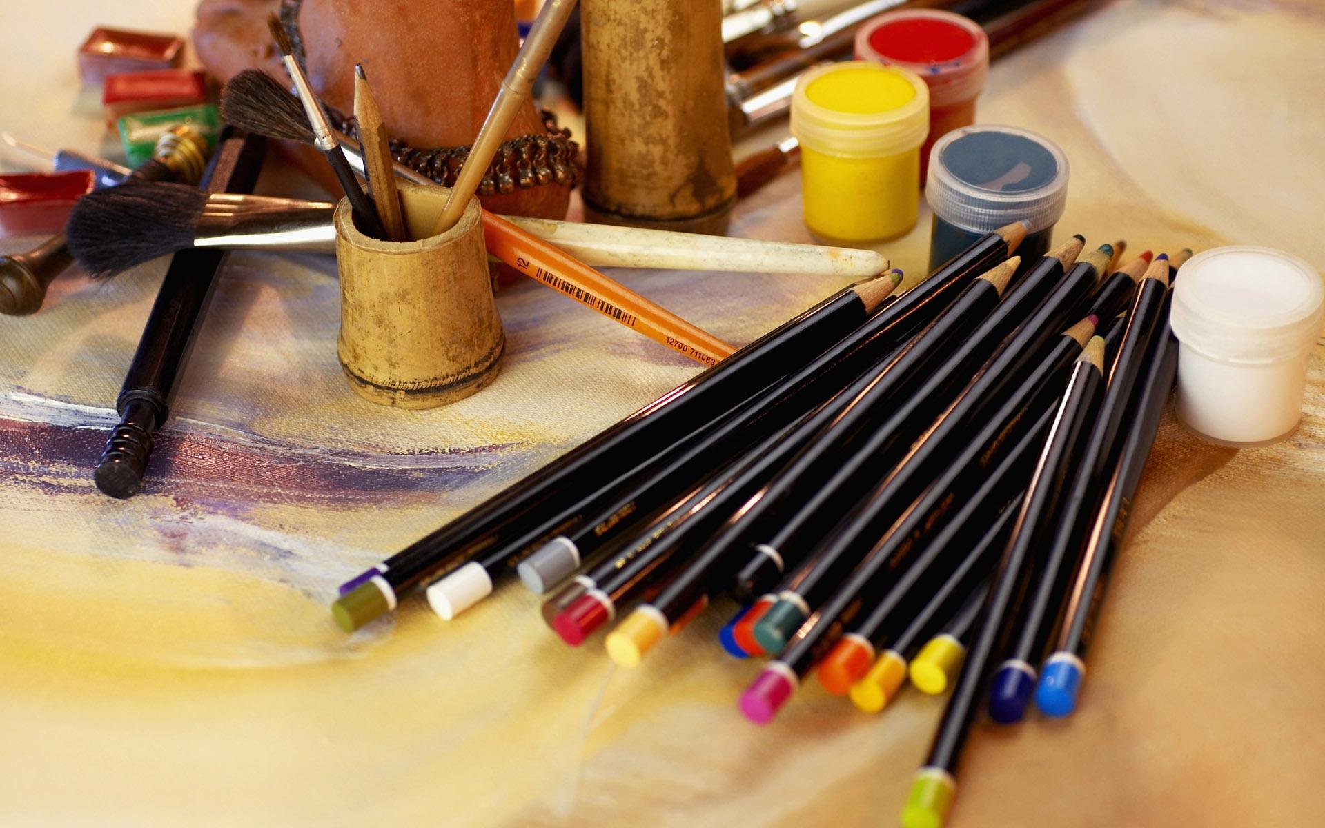 более картинки художники кисти краски началось того, что
