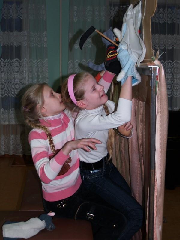 Как в домашних условиях сделать кукольный театр своими руками фото 629