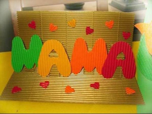открытки с ребенком своими руками 8 марта