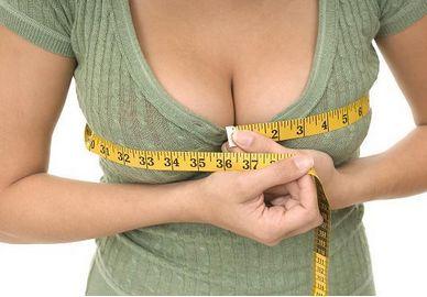 можно массажем увеличить грудь