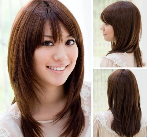 Full layered haircut