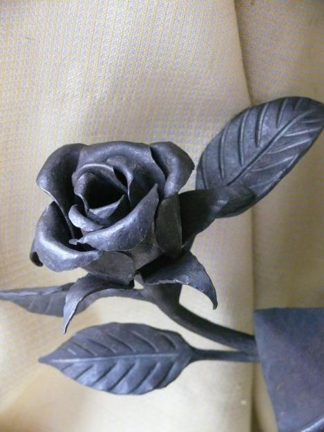Цветы из железа своими руками фото 500