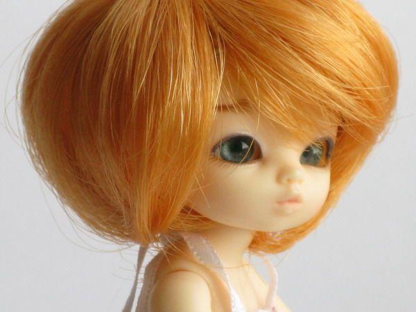 Кукольный парик своими руками