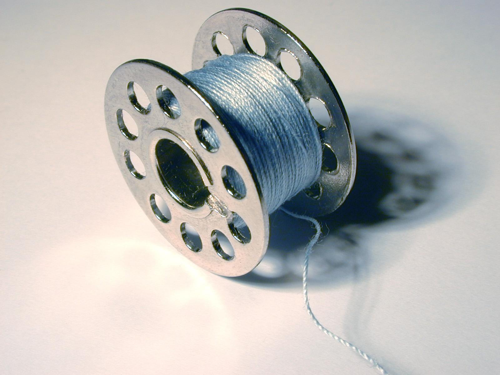 Как сделать нитку в машинку