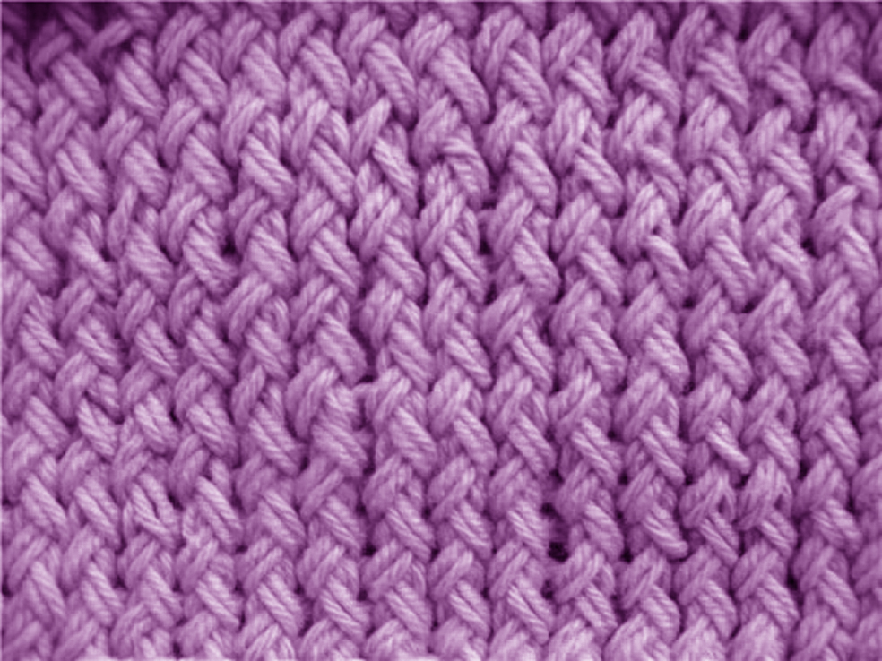 Жемчужный узор в вязании 88
