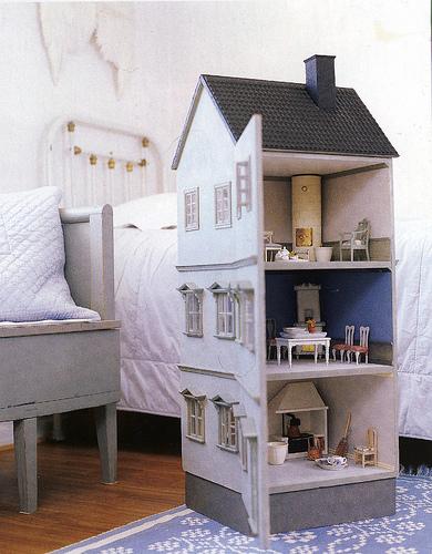Мебель для кукольных домиков из картона своими руками фото 9