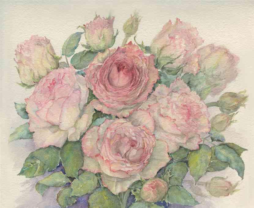 КАК нарисовать розу красками ...: www.kakprosto.ru/kak-39830-kak-narisovat-rozu-kraskami