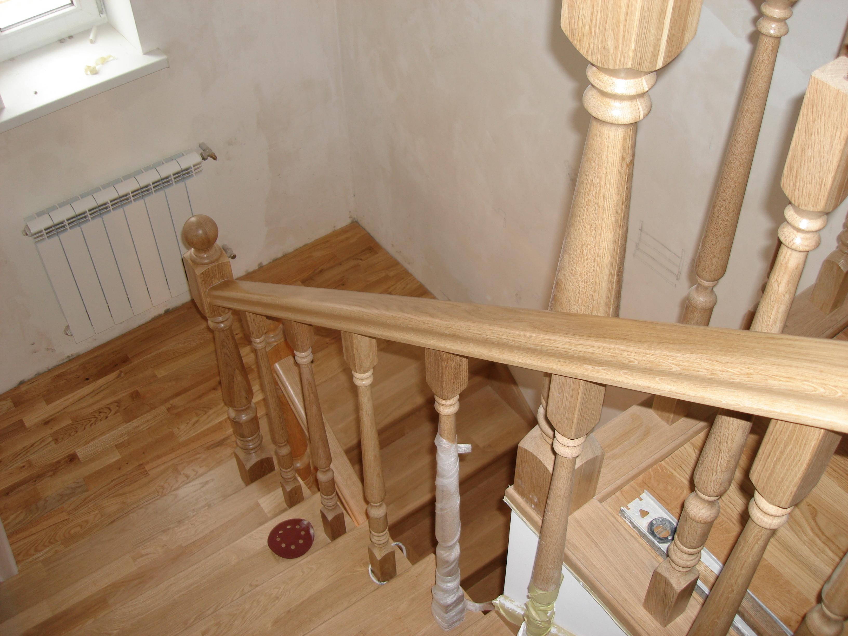 Как собрать деревянную лестницу