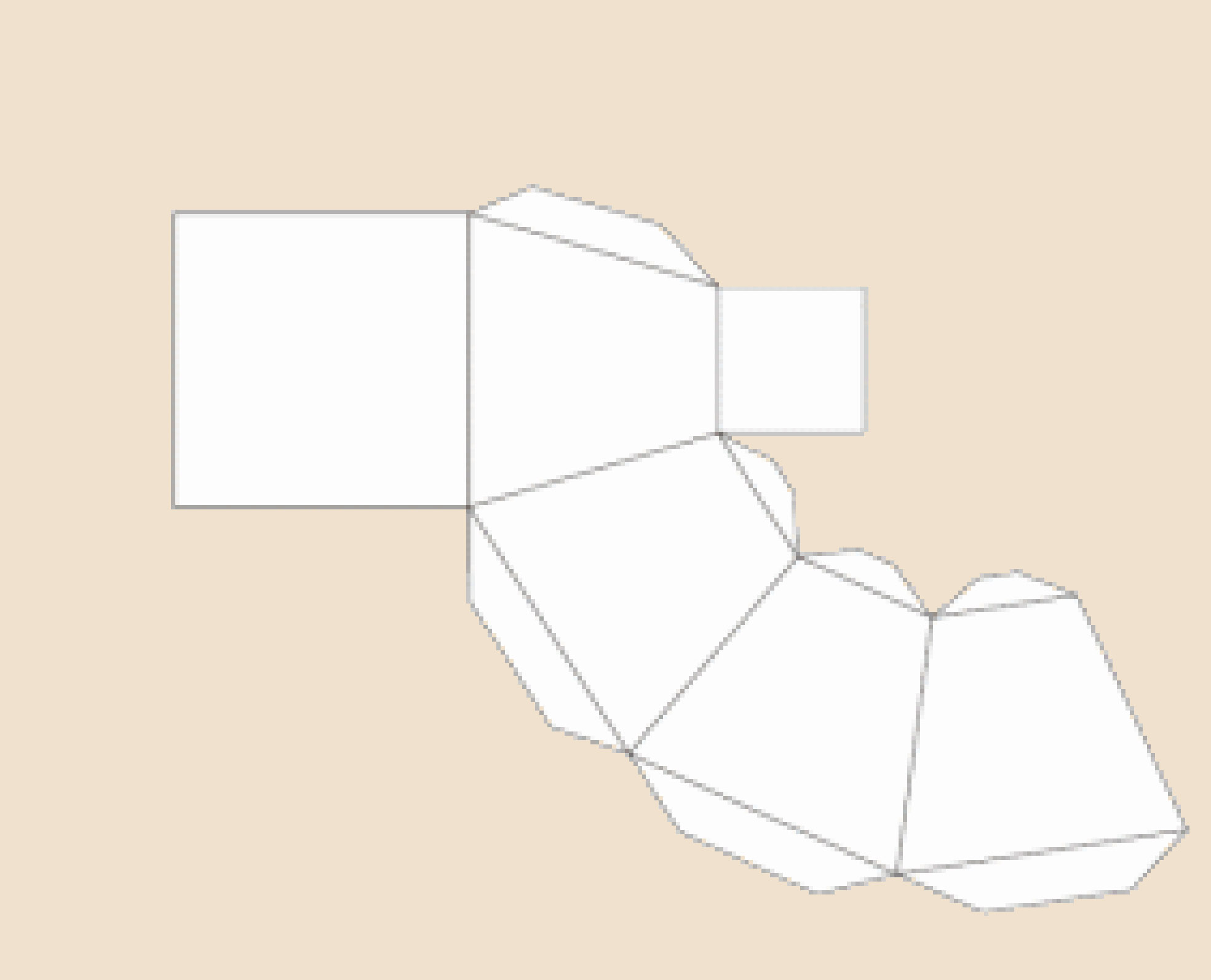 Как сделать усеченную пирамиду