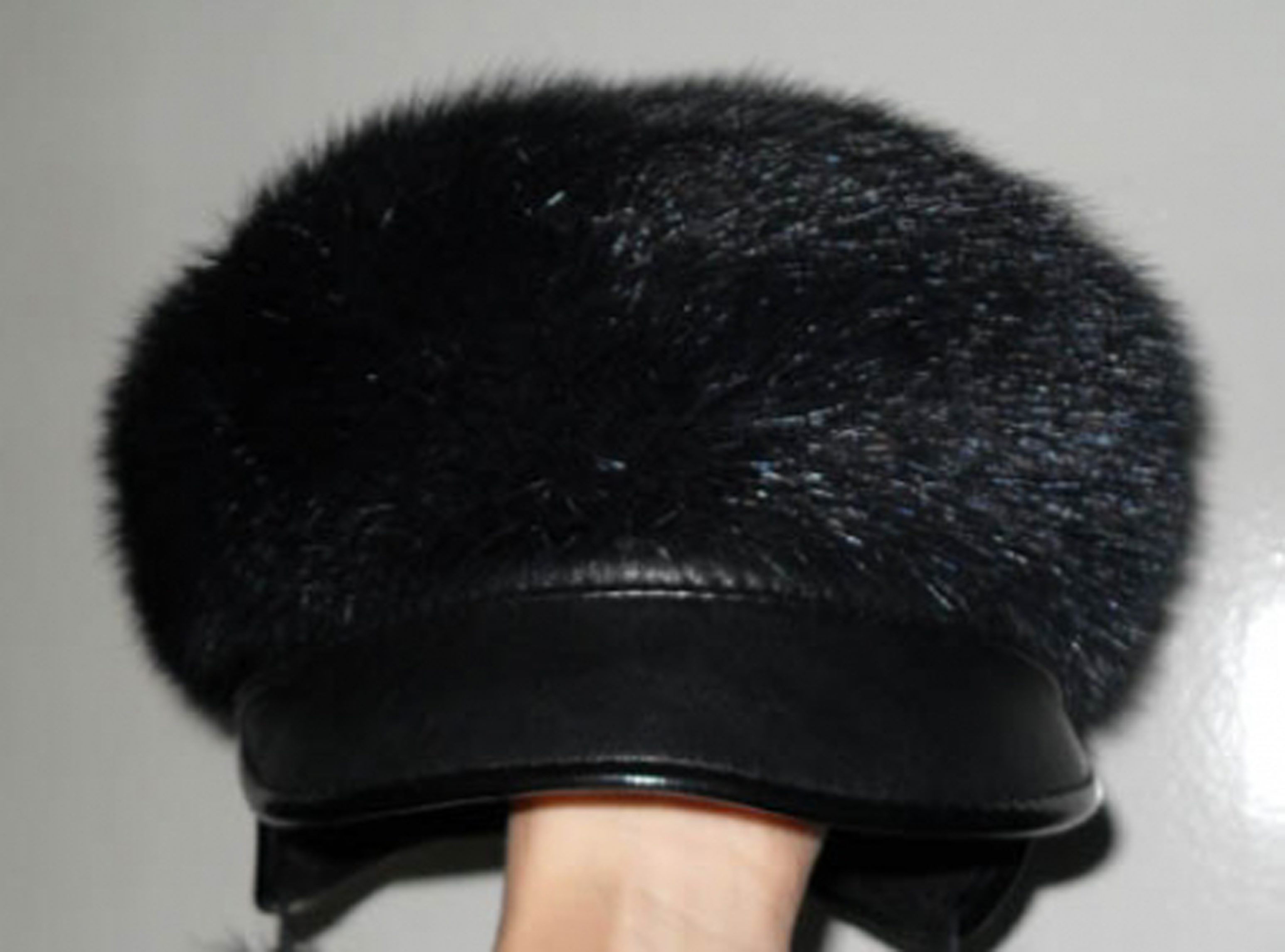 Чем покрасить норковую шапку в домашних условиях