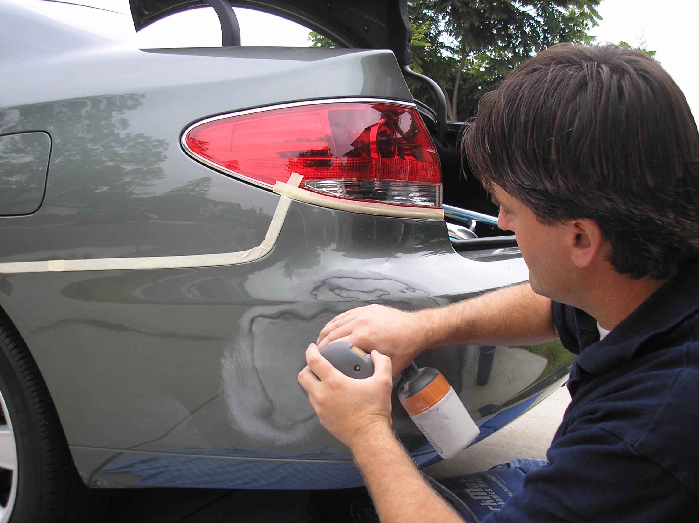 Ремонт царапин на автомобиле своими руками видео