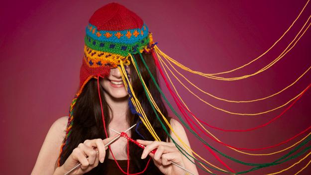 Творческие люди вязание