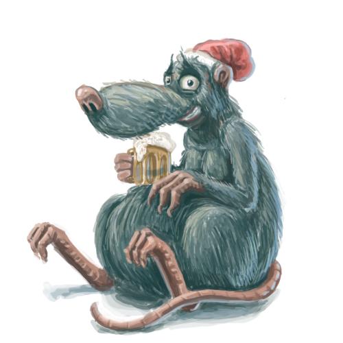 Смешная картинка крысы которая ждет, про украину смешные