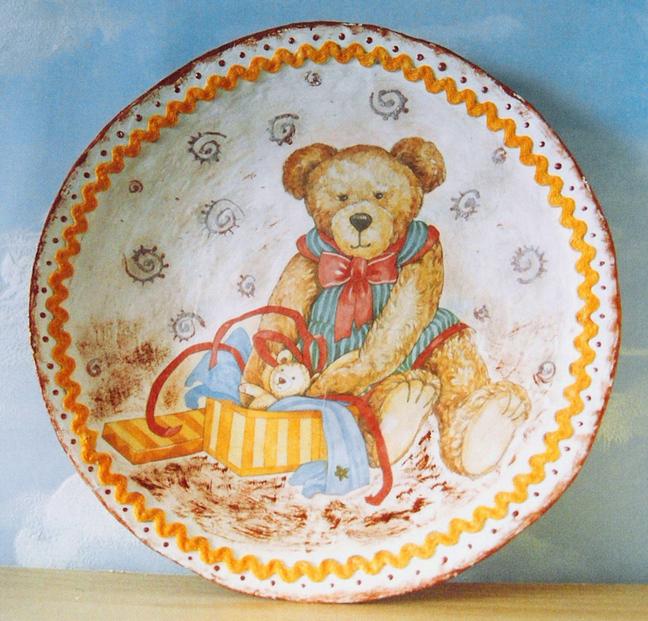Как сделать папье-маше своими руками тарелка