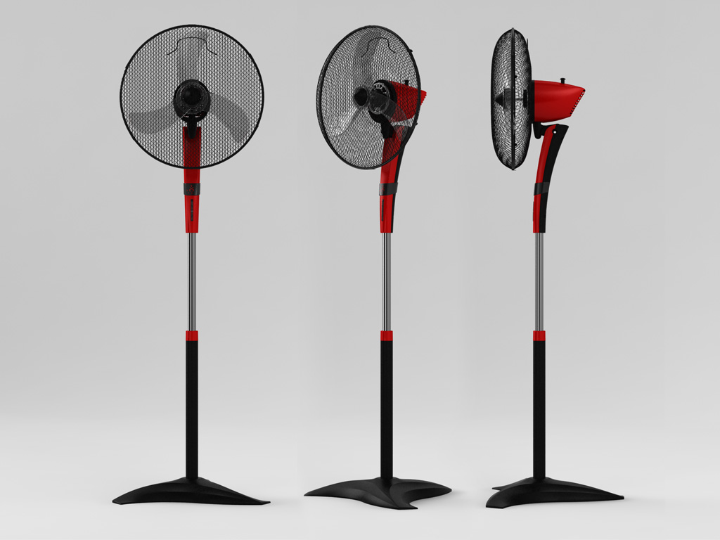 Вентилятор напольный Scarlett SC-SF111B09 45 Вт белый