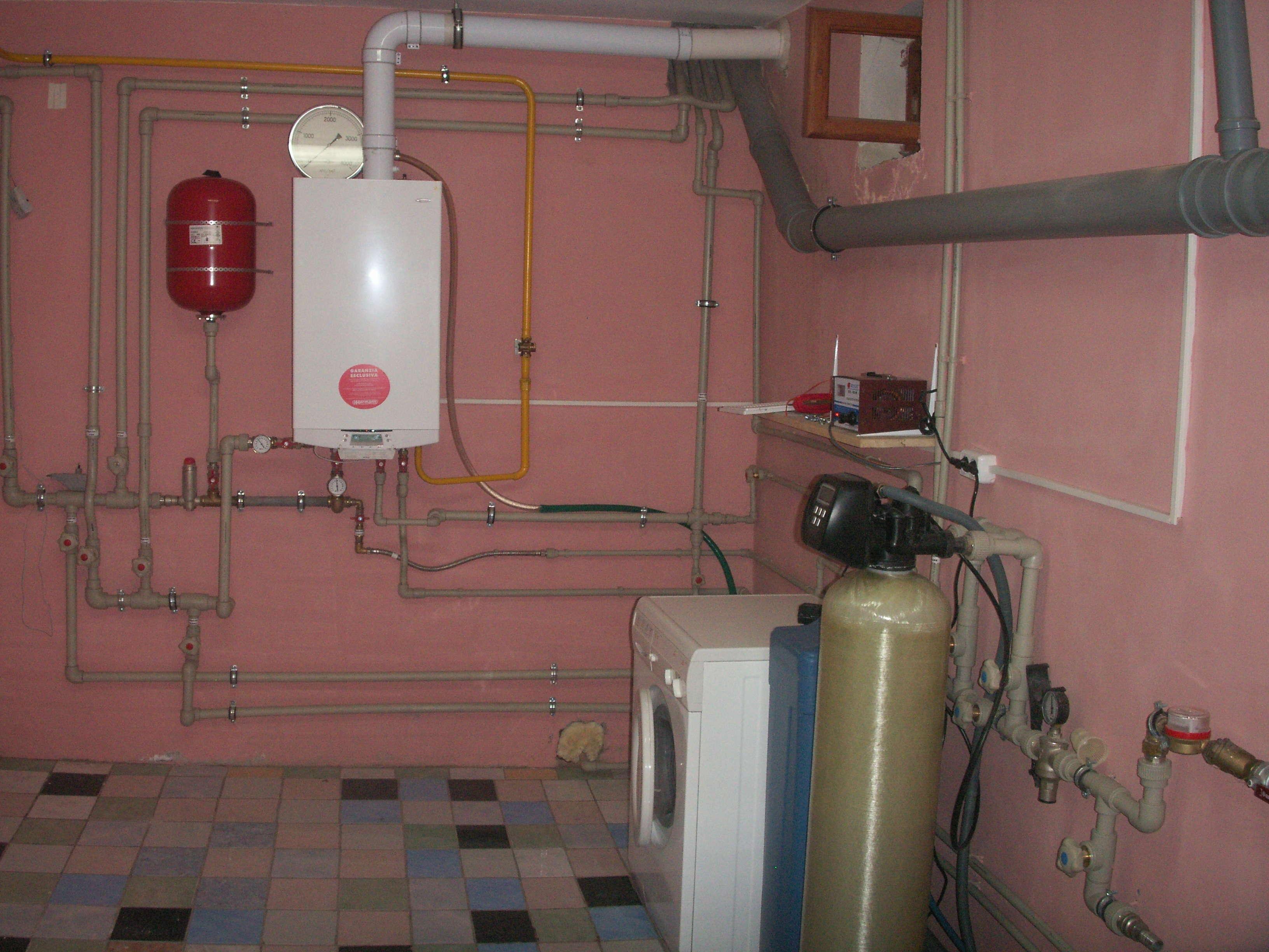 Как скрыть газовую трубу на кухне фото - 32229