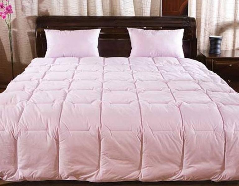 Одеяло пуховое своими руками