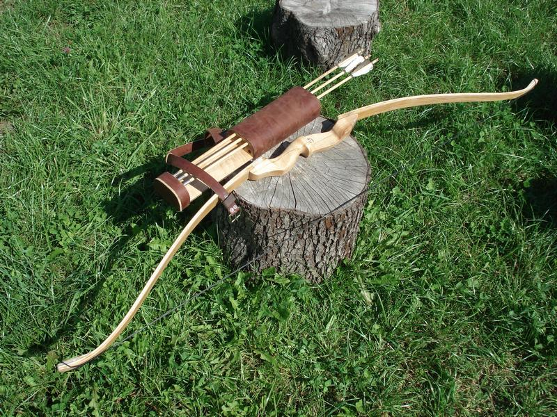 Как сделать лук и стрелы из дерева своими руками в домашних 79