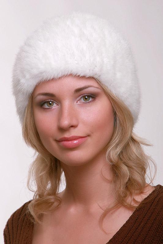 Как связать норковую шапку
