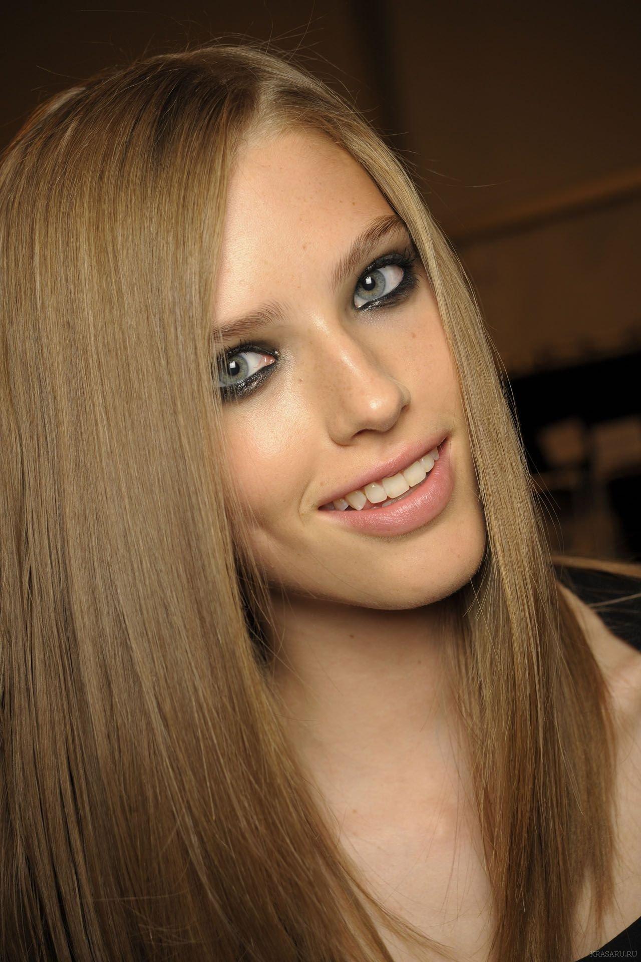Покрасить волосы в белый цвет - b