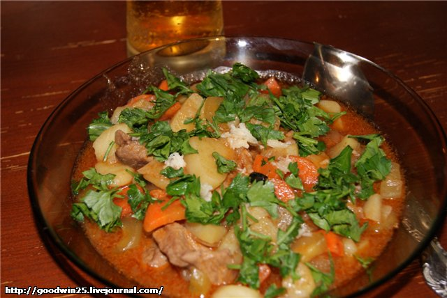 Азу по-татарски: традиционный пошаговый рецепт с фото