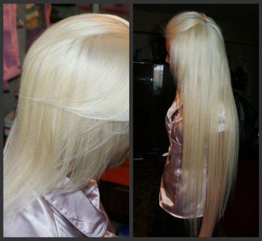 Виды прядей для наращивания волос