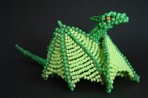Как сделать новогоднюю игрушку дракона