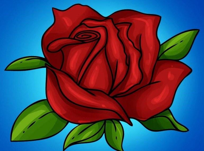 Корзинка из роз
