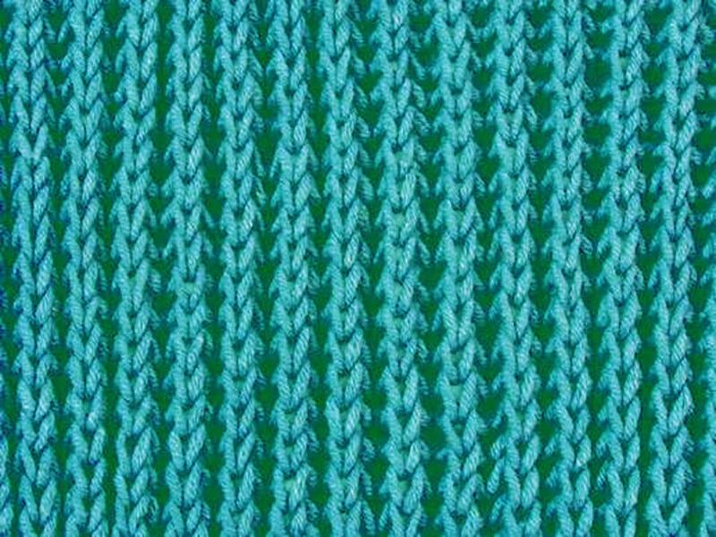 Вязание обычной резинки спицами 60