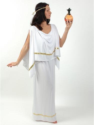 Костюм греческой богини своими руками из