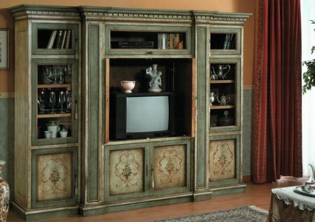 Как обновить старый книжный шкаф своими руками фото