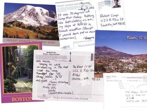 Английский язык открытка другу с отдыха