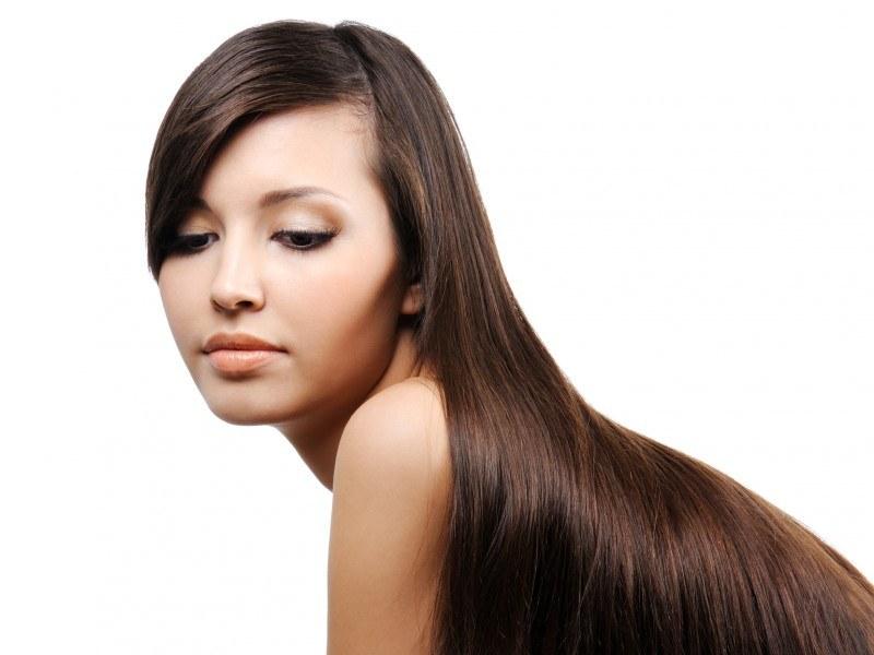 Как можно выпрямить волосы в домашних условиях - b