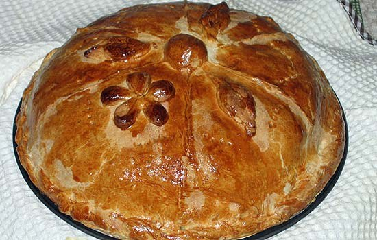 Пирог курник рецепт