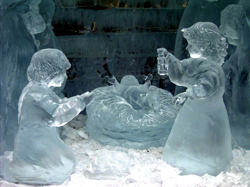 Как можно из льда сделать пар