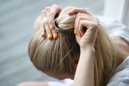 Как легко уложить волосы