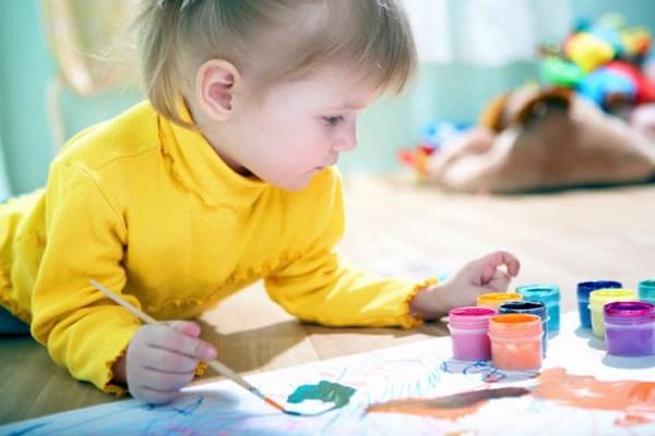 Раскраска для детей полотенце