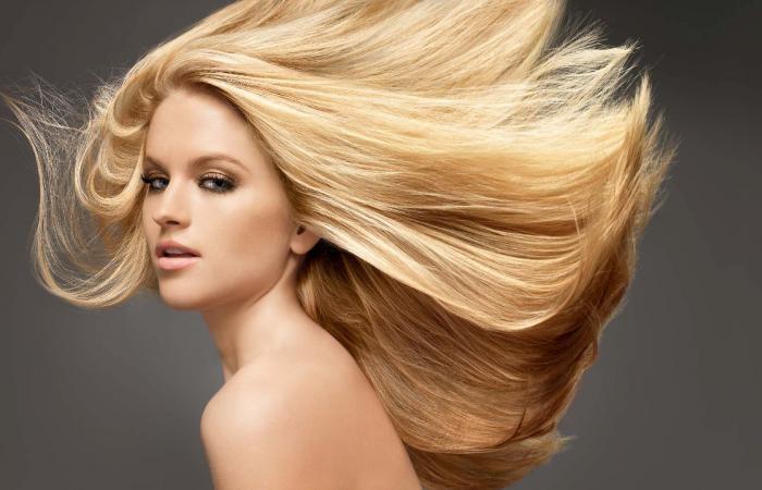 Как можно осветлить темные волосы - c