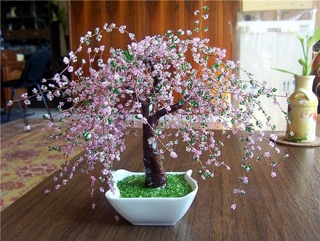 Как сделать цветущее дерево фото 64