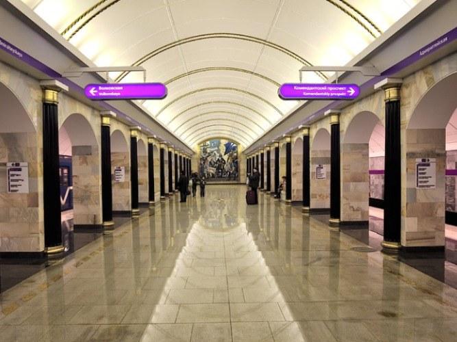 Карта метро санкт петербурга интерактивная схема фото 103