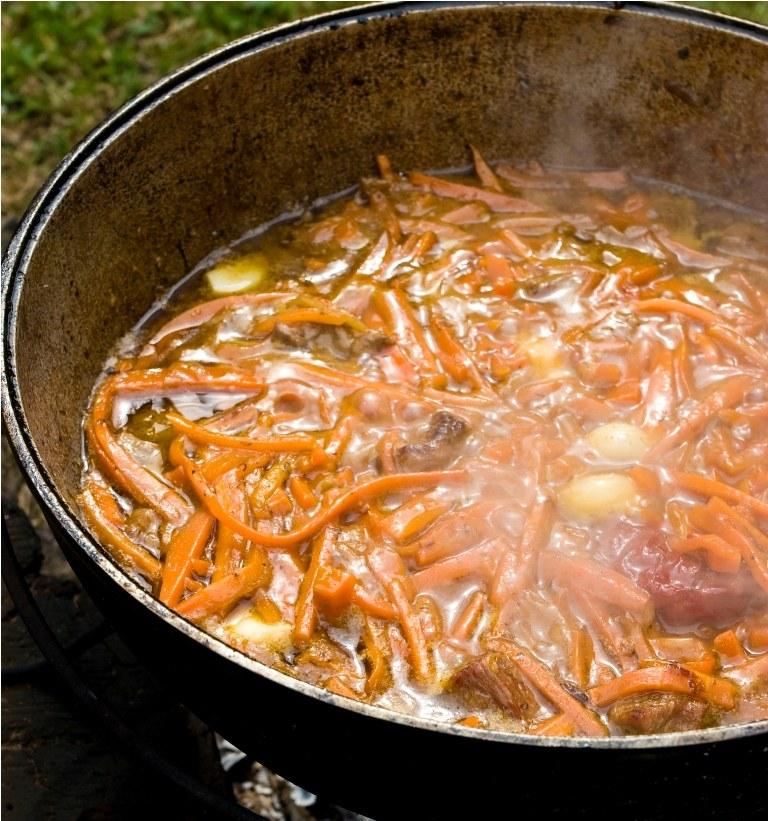Как приготовить жаркое из маринованной баранины