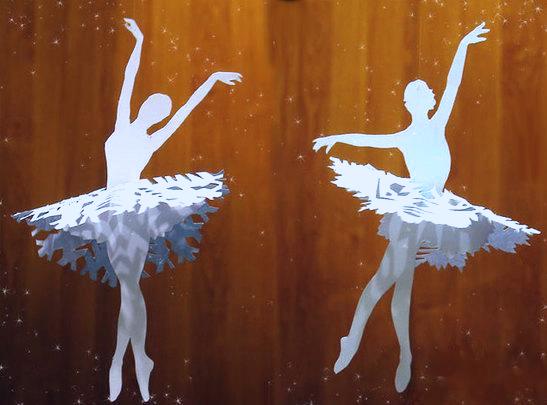 Юбки для снежинок-балеринок