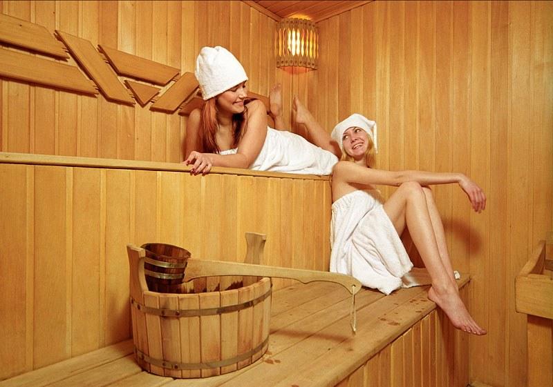 Домашние фото женщин в бане