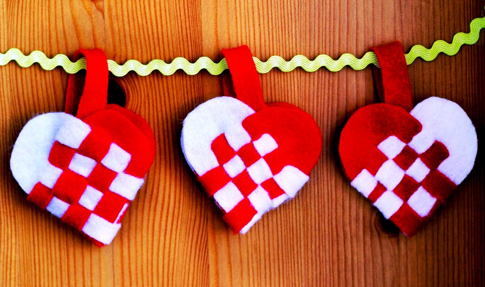 Сердце на день святого валентина своими руками