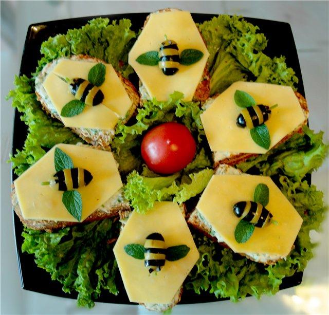 Закуски для детей на день рождения рецепты с фото