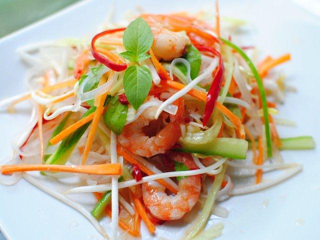 фунчоза с морепродуктами рецепты приготовления в домашних