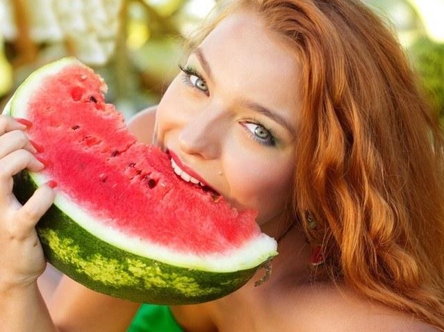 watermelon-hard-woman