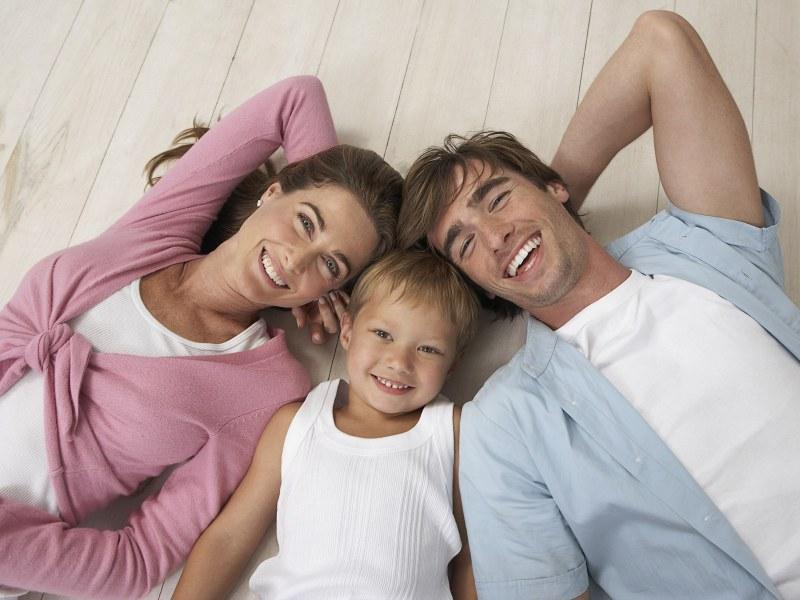 Картинка для счастливой семьи